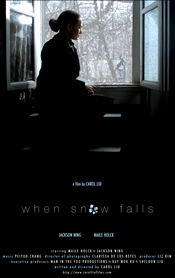 When Snow Falls Poster